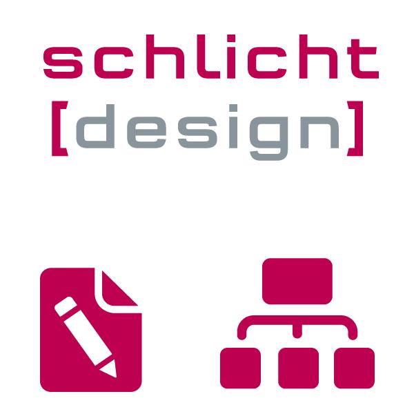 corporate design agentur schlicht design. Black Bedroom Furniture Sets. Home Design Ideas