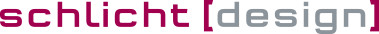 schlicht [design] Logo